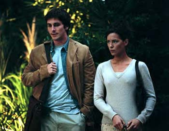 Christian Bale and Kate Beckinsale as Sam and Alex: anally retentive but sympathetic...