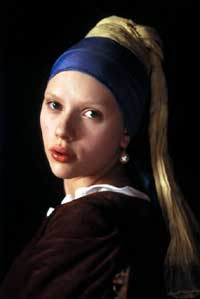Scarlett Johansson is the Girl with a Pearl Earring