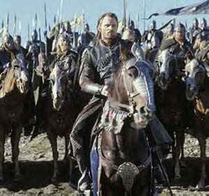 Viggo Mortensen returns as Aragorn to lead the troops to war