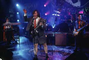 Lesson three: the Angus Young.
