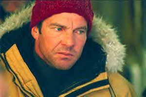 Dennis Quaid as climatologist Jack Hall