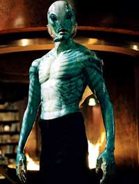 David Hyde Pierce voices freaky fish man Abe Sapien