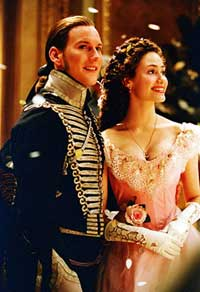 Patrick Wilson as limp rag Raoul and Emmy Rossum as Opera Barbie Christine in The Phantom of the Opera