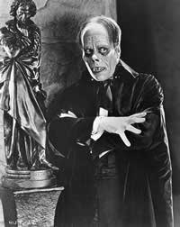 You wanna be like Lon Chaney... as the Phantom of the Opera