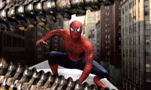 Tobey Maguire dons the lycra as Spider-Man