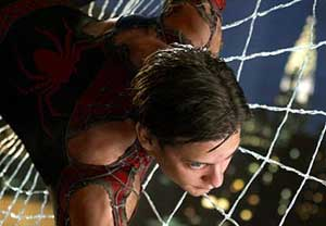 Tobey Maguire as Spiderman 2