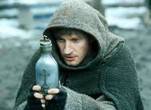 David Wenham as dweeby friar Karl in Van Helsing