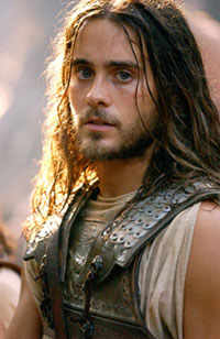 Jared Leto as Hephaistion. Mmmm...