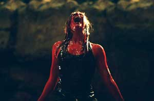 Bloody hell: Shauna Macdonald in The Descent