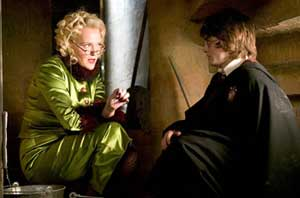 Miranda Richardson steals another scene as Rita Skeeter in Harry Potter and the Goblet of Fire