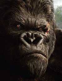 King Kong - the mighty ape himself in Peter Jackson's remake