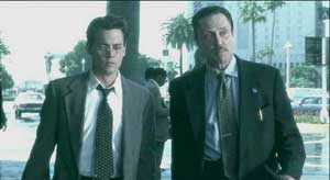 Johnny Depp and Christopher Walken in Nick of Time