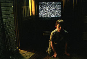 White noise is never a good thing, as creepy Aidan discovers in The Ring 2