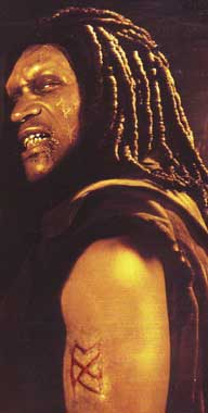 Tony Todd in Shadow: Dead Riot - beware of the colons...