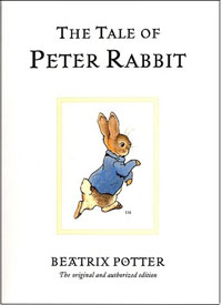 The Tale of Peter Rabbit - Beatrix Potter's first book