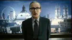 The ever marvellous Bill Nighy as Mr Blunt in Stormbreaker