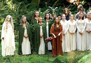 The ladies of Summersisle - The Wicker Man 2006