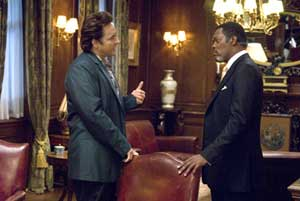 John Cusack and Samuel L Jackson in the Stephen King adaptation 1408