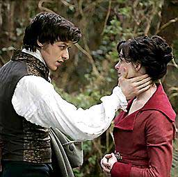 James McAvoy and Anne Hathaway have real chemistry in Becoming Jane