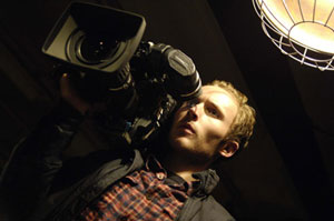 Life through a lens: Joshua Close as Jason Creed in Diary of the Dead