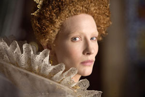 Cate Blanchett as Queen Elizabeth in Elizabeth: The Golden Age