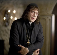 Javier Barden as Brother Lorenzo in Goya's Ghosts
