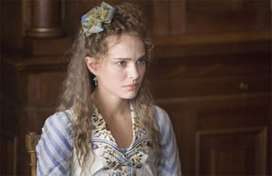 Natalie Portman as Ines in Goya's Ghosts