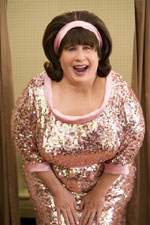 John Travolta is pretty in pink as Edna Turnblad in Hairspray