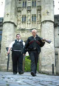 Nick Frost and Simon Pegg kick some rural ass in Hot Fuzz