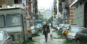 Will Smith is not alone in I Am Legend