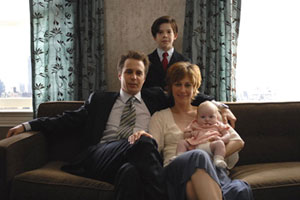 Sam Rockwell, Vera Farmiga and Jacob Kogan in creepy movie Joshua