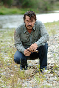 Josh Brolin as Llewelyn Moss in No Country For Old Men