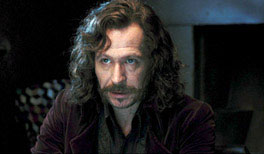 Gary Oldman as Sirius Black in Harry Potter and the Order of the Phoenix
