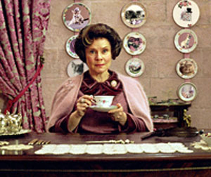 Imelda Staunton as Dolores Umbridge in Harry Potter and the Order of the Phoenix
