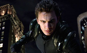 James Franco as the New Goblin in Spider-Man 3