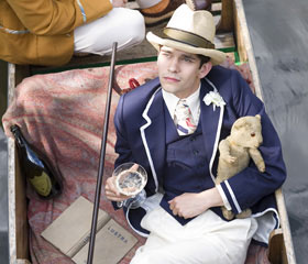 Ben Whishaw as Sebastian Flyte in Brideshead Revisited
