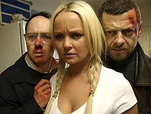 Reece Shearsmith, Jennifer Ellison and Andy Serkis in Brit horror flick The Cottage