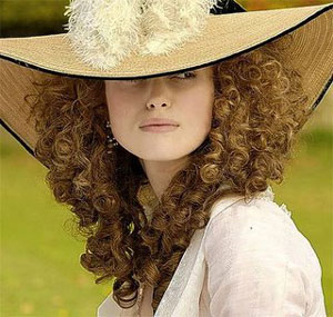 Keira Knightley as Georgiana, Duchess of Devonshire