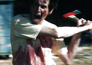 Mike Brune as Archie in Blood Car
