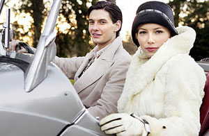 Ben Barnes and Jessica Biel prepare to meet the parents in 1930s comedy Easy Virtue