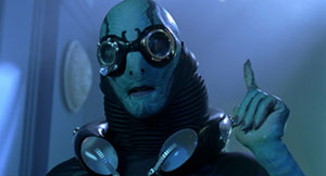 Doug Jones as fishman Abe Sapien