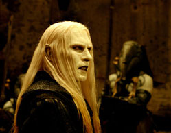 Prince Nuada (Luke Goss) plots to take over the world