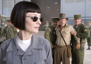 Cate Blanchett as Irina Spalko in Indiana Jones and the Kingdom of the Crystal Skull