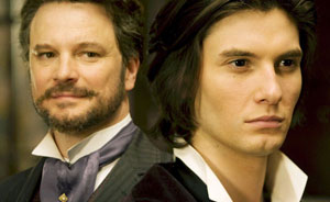 Colin Firth as Lord Henry Wotton and Ben Barnes as Dorian Gray