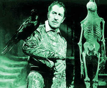Vincent Price stars in The Raven