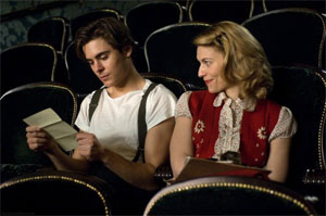 Zac Efron and Claire Danes in Me and Orson Welles