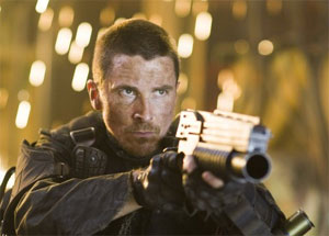 Christian Bale as John Connor in Terminator Salvation