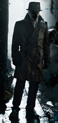 Jackie Earle Haley as Rorshach in Watchmen