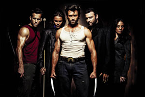 Wolverine and fellow mutants in X-Men Origins: Wolverine
