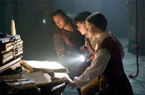 Ben Barnes, Skandar Keynes and Georgie Henley in The Voyage of the Dawn Treader